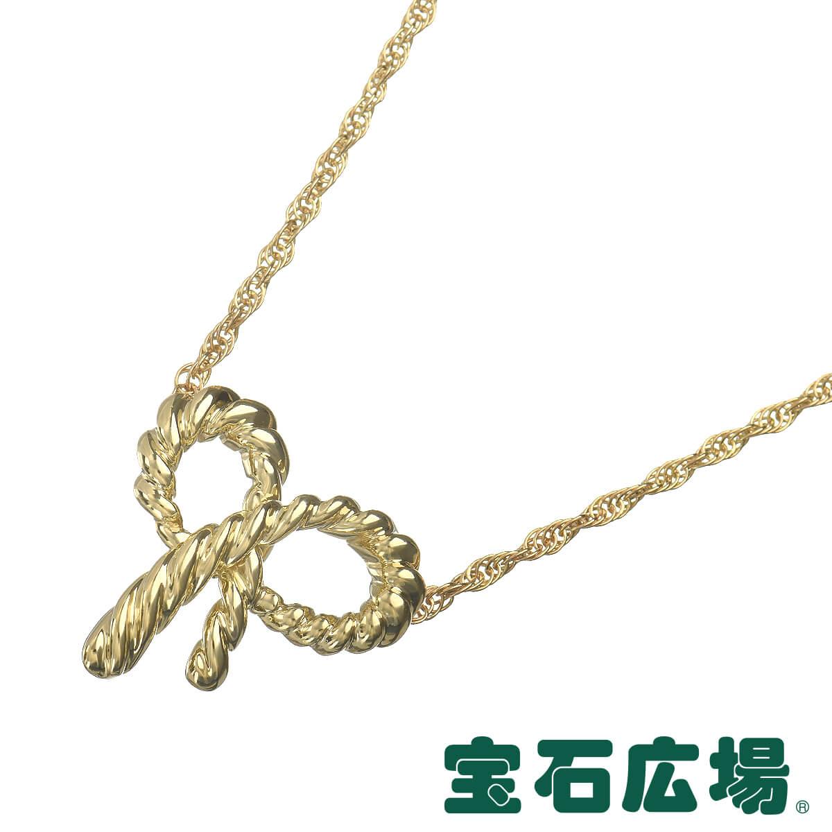 ティファニー TIFFANY&CO ツイストリボン ネックレス 【中古】 ジュエリー 送料無料