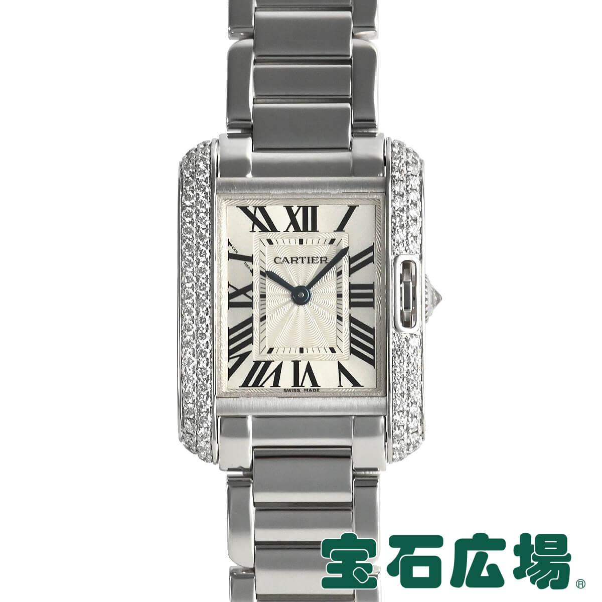 カルティエ CARTIER タンク アングレーズ WT100008【中古】レディース 腕時計 送料無料