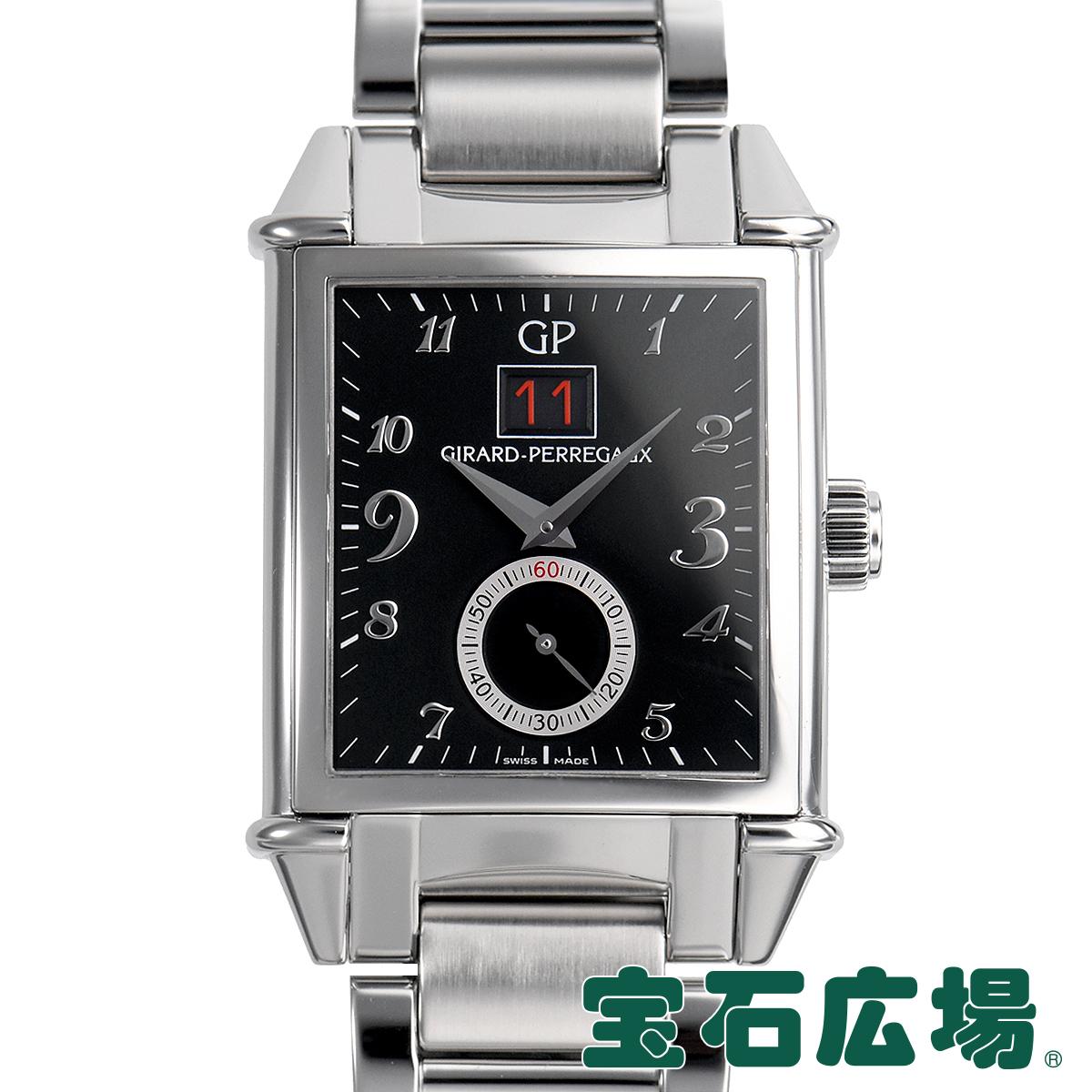 ジラール ペルゴ GIRARD PERREGAUX ヴィンテージ1945 ビッグデイト 世界限定250本 25805-11-621-11A【中古】メンズ 腕時計 送料無料