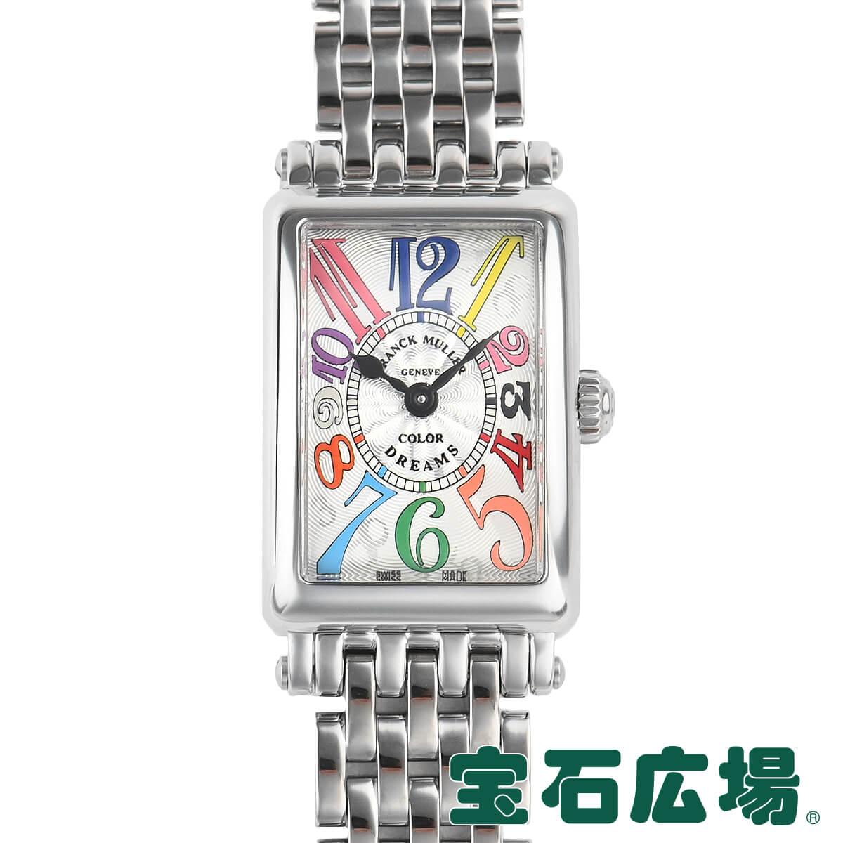 フランク ミュラー ロングアイランドプティ カラードリーム 802QZ 代引き不可 COL DRM 腕時計 新品 FRANCK レディース 送料無料 MULLER フランクミュラー オープニング 大放出セール