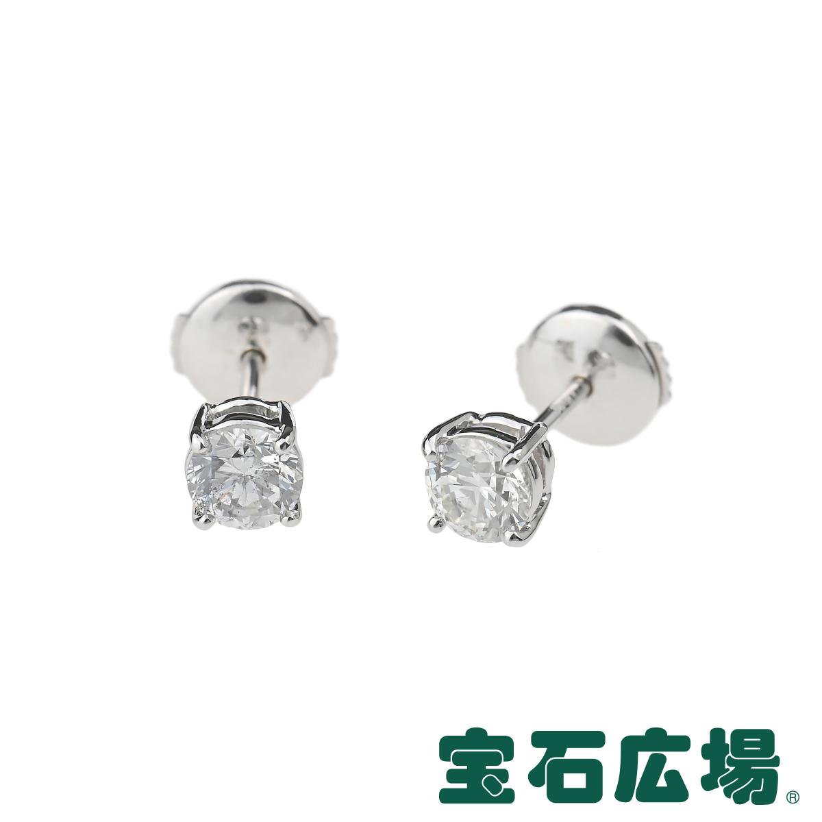 宝石広場オリジナル ダイヤ スタッドピアス 送料無料新品 D 0.529ct 0.512ct ジュエリー 新品 大規模セール ダイヤモンド ユニセックス 送料無料