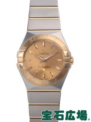 オメガ OMEGA コンステレーション ブラッシュクォーツ 123 20 27 60 08 001 新品レディース 腕時計 送料無料jqA5R34L