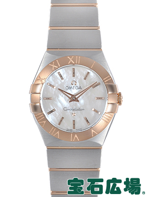 オメガ OMEGA コンステレーション ブラッシュクォーツ123.20.27.60.05.001【新品】 レディース 腕時計 送料・代引手数料無料