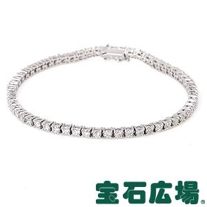 宝石広場オリジナル ダイヤ テニスブレスレット【新品】 ジュエリー 送料無料