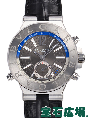 【最大3万円OFFクーポン配布中!6/1(土)0時開始】ブルガリ ディアゴノ GMT DG40C14SLDGMT【新品】 メンズ 腕時計 送料・代引手数料無料