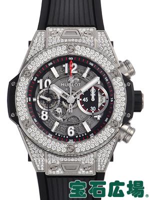 ウブロ ビッグバン ウニコ チタニウム パヴェ 411.NX.1170.RX.1704【新品】 メンズ 腕時計 送料無料