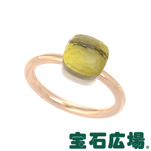ポメラート ヌードプチ レモンクォーツ リング A.B403/O6/QL【新品】 ジュエリー 送料無料