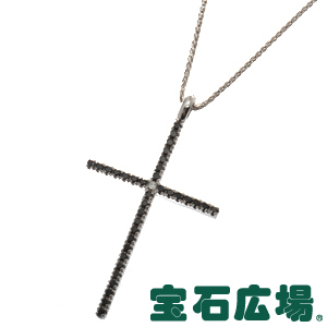 ダミアーニ ミステリークロス 1Pダイヤ・BKダイヤ ペンダントネックレス 20016360【新品】 ジュエリー 送料無料