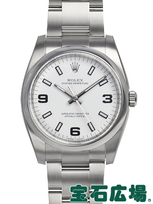 ロレックス ROLEX オイスターパーペチュアル 114200【新品】 メンズ 腕時計 送料無料
