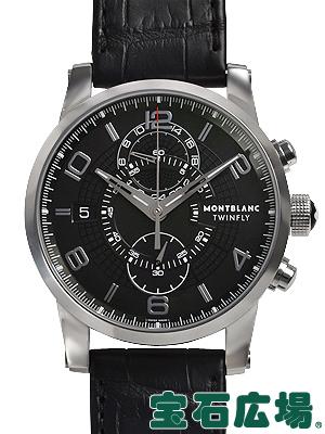 モンブラン タイムウォーカー ツインフライクロノグラフ 105077【新品】 メンズ 腕時計 送料・代引手数料無料