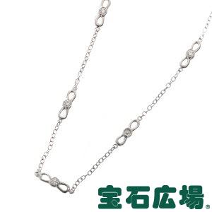 ティファニー ボウリンク 10Pダイヤ ネックレス【中古】 ジュエリー 送料・代引手数料無料