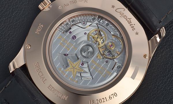 ゼニス キャプテン セントラルセコンド 18.2021.670/38.C498【新品】 メンズ 腕時計 送料・代引手数料無料