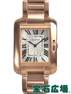カルティエ タンクアングレーズ MM W5310041【新品】 ユニセックス 腕時計 送料無料