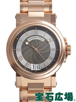 ブレゲ マリーンラージデイト 5817BR/Z2/RM0【中古】 メンズ 腕時計 送料・代引手数料無料