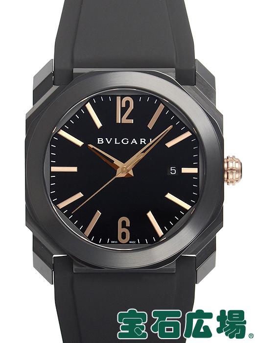 ブルガリ オクト ウルトラネロ BGO41BBSVD【新品】 メンズ 腕時計 送料・代引手数料無料