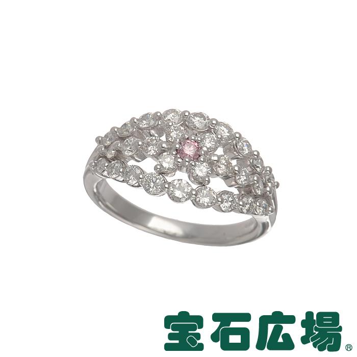 11号 ノーブランド ピンクダイヤ・ダイヤ リング【中古】 ジュエリー 送料無料