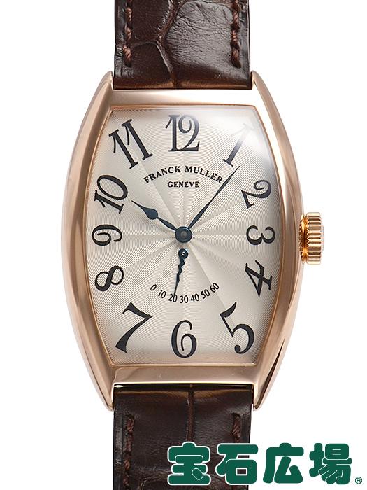 フランク・ミュラー トノウカーベックス レトログラードセコンド 5850RET【中古】 メンズ 腕時計 送料・代引手数料無料