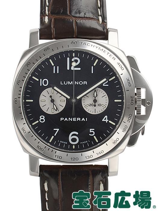 パネライ ルミノールクロノ 200本限定 PAM00189【中古】 メンズ 腕時計 送料・代引手数料無料