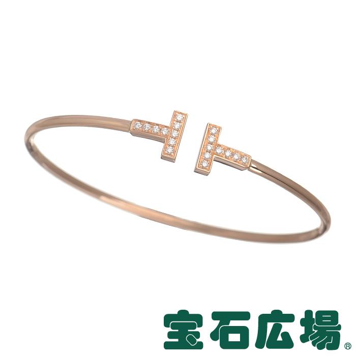 ティファニー Tワイヤー ダイヤ ブレスレット(L) 33450818【新品】 ジュエリー 送料・代引手数料無料