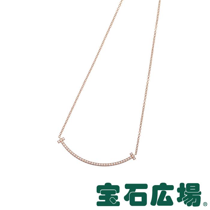 ティファニー Tスマイル ダイヤ ネックレス(ミニ) 34684421【新品】 ジュエリー 送料無料
