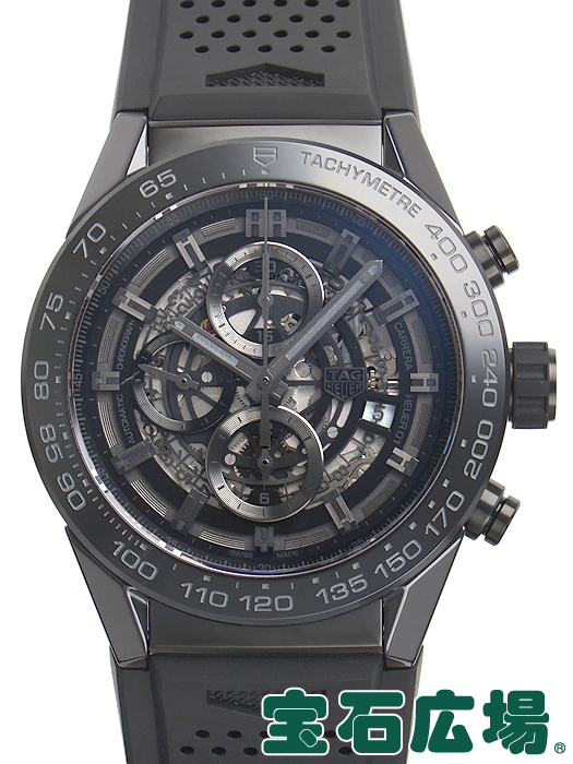 タグ・ホイヤー カレラ キャリバーホイヤー01 ブラックセラミック CAR2A90.FT6071【新品】 メンズ 腕時計 送料・代引手数料無料