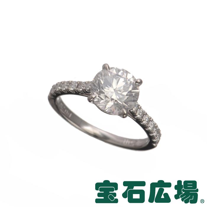 8号 ノーブランド 1Pダイヤ・ダイヤ ソリティアリング【中古】 ジュエリー 送料無料