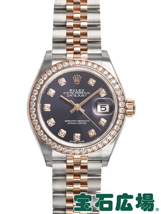 ロレックス ROLEX レディ デイトジャスト 28 279381RBR【新品】 レディース 腕時計 送料・代引手数料無料