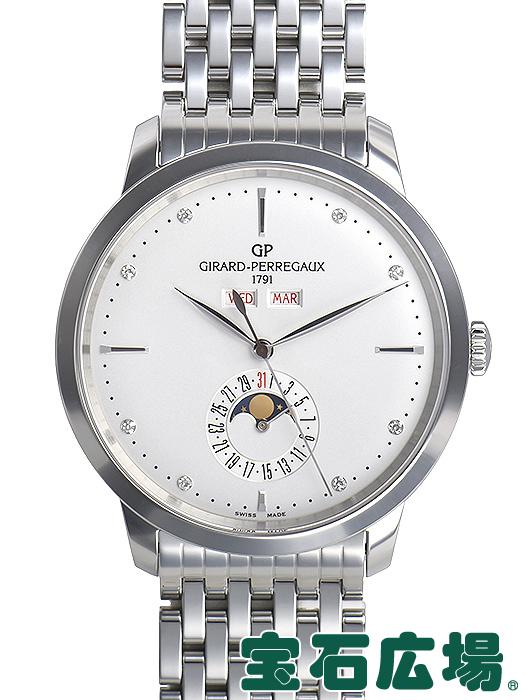 ジラール・ペルゴ 1966フルカレンダー 49535-11-1A2-11A【新品】 メンズ 腕時計 送料・代引手数料無料