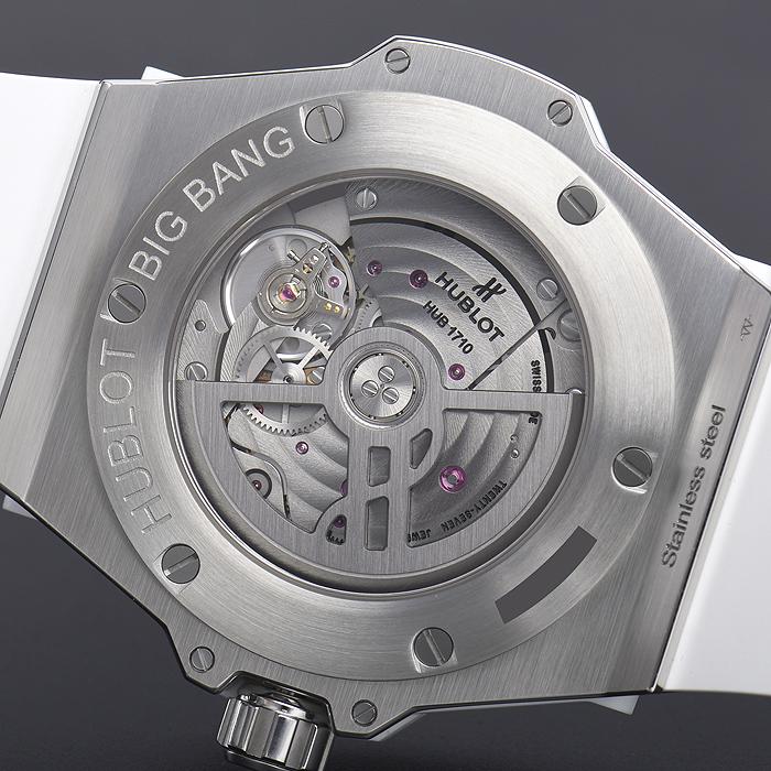 ウブロ ビッグバン ワンクリック スチールダイヤモンド 465.SE.2010.RW.1604【新品】 ユニセックス 腕時計 送料・代引手数料無料