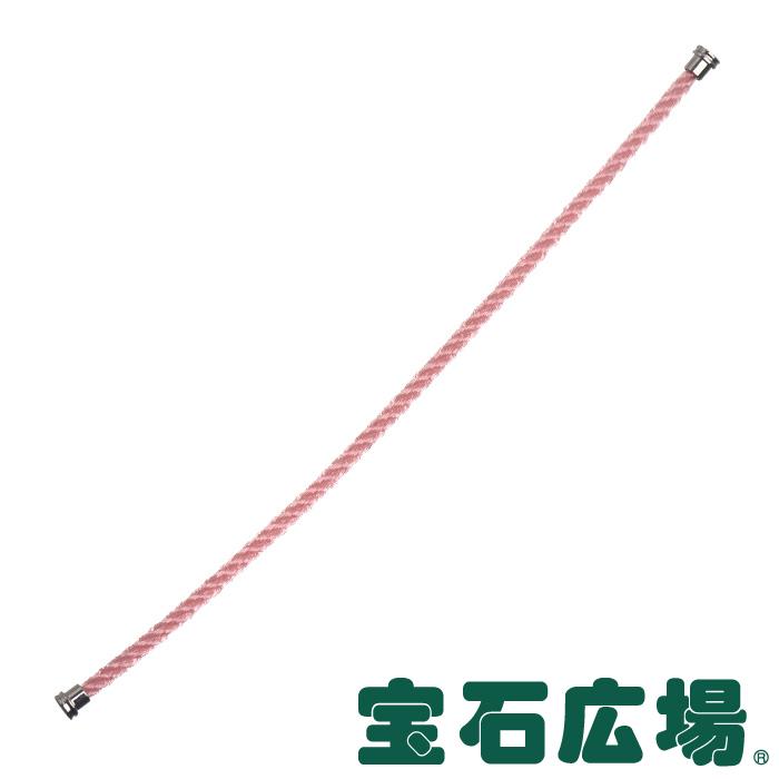 フレッド フォース10 ペールピンク テキスタイル ケーブル (MM)14 6B0335【新品】 ジュエリー 送料無料