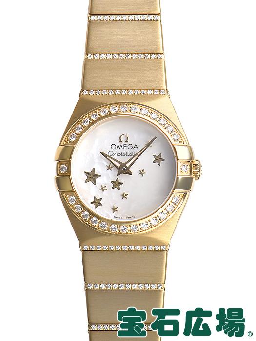 オメガ OMEGA コンステレーション ブラッシュクォーツ 123.55.24.60.05.002【新品】 レディース 腕時計 送料・代引手数料無料