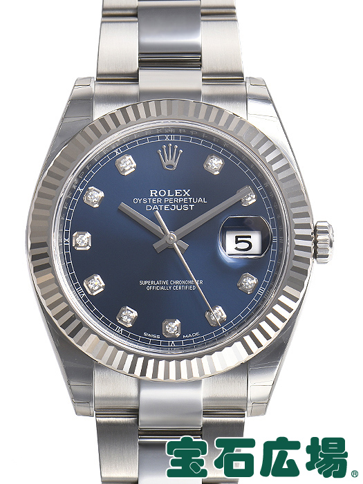 ロレックス ROLEX デイトジャスト41 126334G【新品】 メンズ 腕時計 送料・代引手数料無料