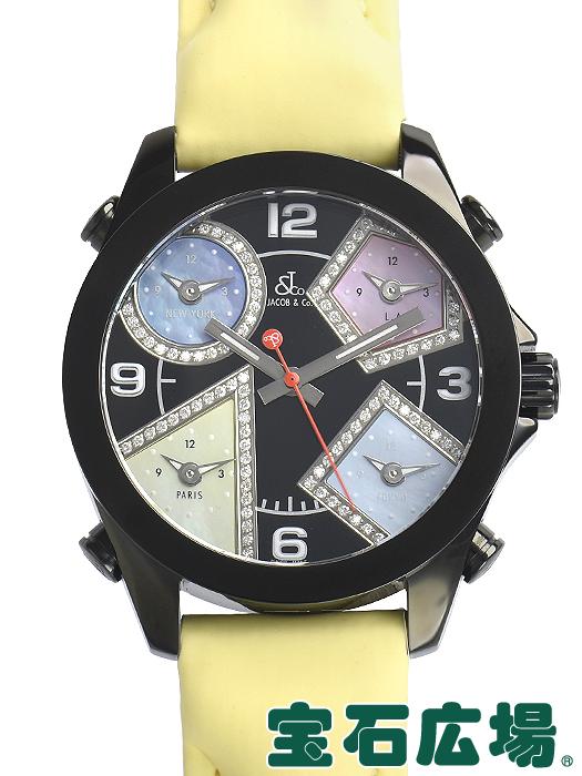 ジェイコブ 5タイムゾーン 40 JCM-75DABC【中古】 ユニセックス 腕時計 送料・代引手数料無料