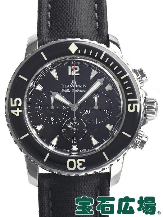 ブランパン フィフティファゾムス フライバッククロノ 5085F.1130.52【中古】 メンズ 腕時計 送料・代引手数料無料