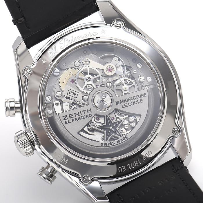 ゼニス クロノマスターフルオープン 42mm 03.2081.400/78.C813【新品】 メンズ 腕時計 送料・代引手数料無料