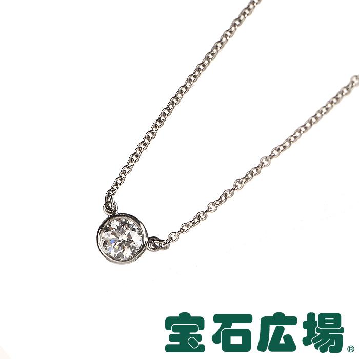 ティファニー エルサ・ペレッティ ダイヤモンド バイザヤード 1Pダイヤ ネックレス【中古】 ジュエリー 送料無料