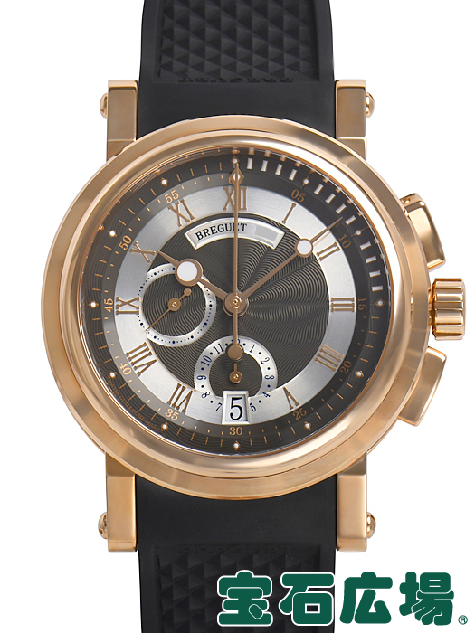 timeless design d0f31 349f8 ブレゲ BREGUET マリーン クロノグラフ 5827BR/Z2/5ZU【新品】メンズ 腕時計 送料・代引手数料無料|宝石広場
