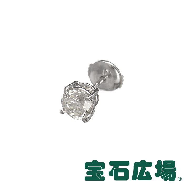 宝石広場オリジナル ダイヤ ピアス(シングル) D 1.085ct【新品】 ジュエリー 送料無料