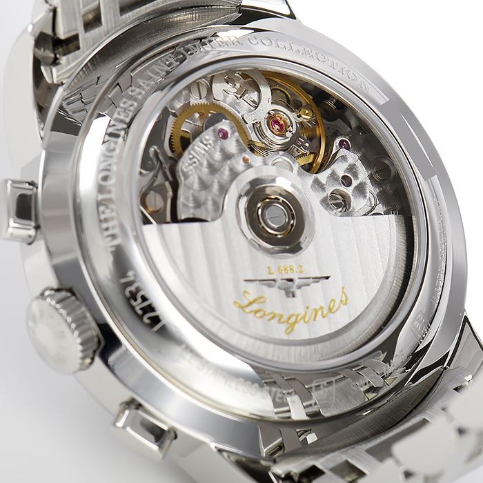 ロンジン サンティミエ クロノグラフ L2.753.4.72.6【新品】 メンズ 腕時計 送料・代引手数料無料