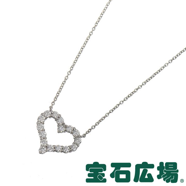 ティファニー センチメンタルハート ダイヤ ネックレス(S) 12976542【中古】 ジュエリー 送料・代引手数料無料