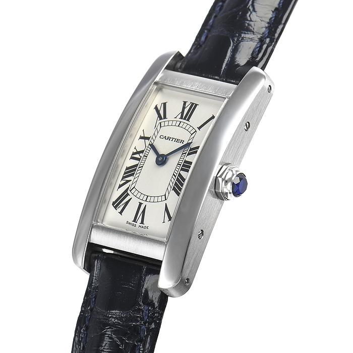 カルティエ タンクアメリカン SM WSTA0016【新品】 レディース 腕時計 送料・代引手数料無料
