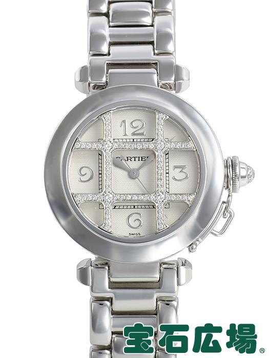 カルティエ パシャ32mm 2グリッド WJ1014M9【中古】 レディース 腕時計 送料・代引手数料無料