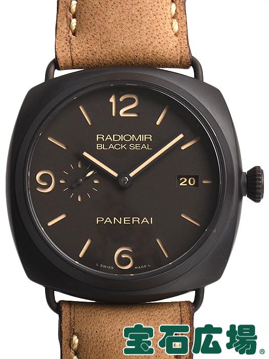パネライ ラジオミール コンポジット ブラックシール 3デイズ PAM00505【中古】 メンズ 腕時計 送料・代引手数料無料