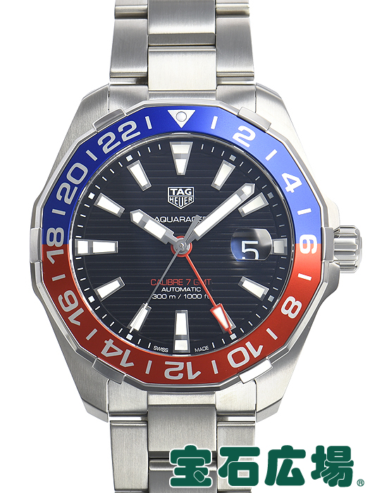 タグ・ホイヤー アクアレーサー キャリバー7 GMT WAY201F.BA0927【新品】 メンズ 腕時計 送料・代引手数料無料