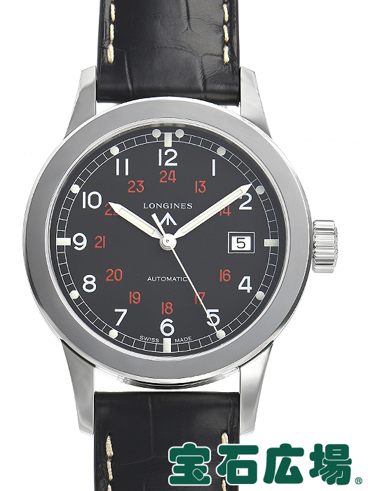 ロンジン ヘリテージ ミリタリー L2.832.4.53.0【新品】 メンズ 腕時計 送料・代引手数料無料