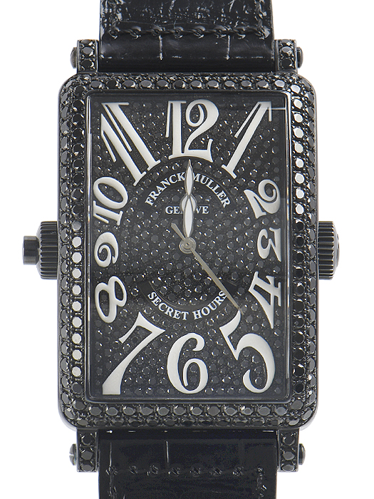 フランク・ミュラー ロングアイランド シークレットアワー 1300SE H 1 NRD CD【中古】 メンズ 腕時計 送料無料