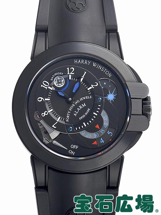 【最大3万円OFFクーポン配布中!5/1(金)0時開始】ハリー・ウィンストン プロジェクトZ6 ブラックエディション 世界限定300本 400/MMAC44ZKC.K2【中古】 メンズ 腕時計 送料無料