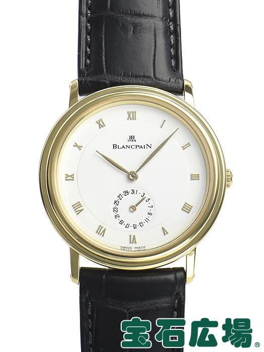 ブランパン ヴィルレ ディスクカレンダー 4795-1418-58 【中古】 メンズ 腕時計 送料・代引手数料無料