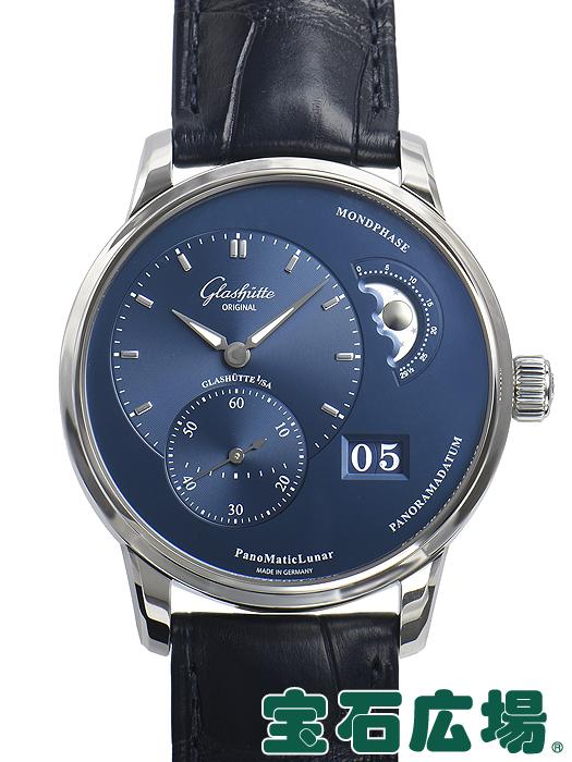 グラスヒュッテ・オリジナル パノマティック ルナ 1-90-02-46-32-35【新品】 メンズ 腕時計 送料・代引手数料無料