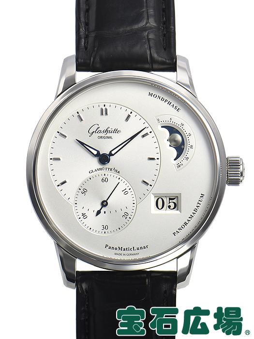 グラスヒュッテ・オリジナル パノマティック ルナ 1-90-02-42-32-05【新品】 メンズ 腕時計 送料無料